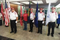 Badger Honor Flight Color Guard